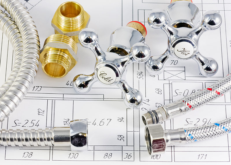image of plumbing parts