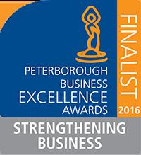 Peterborough Business Excellence Award Logo